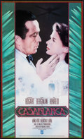 "Movie Posters:Academy Award Winners, Casablanca (CBS Fox Video, 1980s). Small Video Release Poster(10.5"" X 18.25""). Academy Award Winners.. ..."