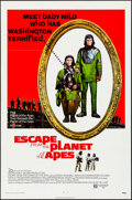 "Movie Posters:Science Fiction, Escape from the Planet of the Apes (20th Century Fox, 1971). OneSheet (27"" X 41""). Science Fiction.. ..."