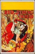 """Movie Posters:Miscellaneous, Pantomime Theatre - Red Riding Hood (Taylors Printers, 1930s).Theatre Poster (20"""" X 30""""). Miscellaneous.. ..."""