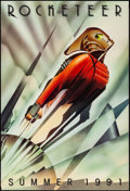 "Movie Posters:Action, Rocketeer (Walt Disney Pictures, 1991). One Sheet (27"" X 40"") DS Advance, John Mattos Artwork. Action.. ..."