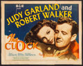 "Movie Posters:Romance, The Clock (MGM, 1945). Title Lobby Card (11"" X 14""). Romance.. ..."