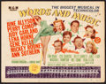"Movie Posters:Musical, Words and Music (MGM, 1948). Title Lobby Card (11"" X 14"").Musical.. ..."