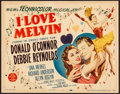 "Movie Posters:Comedy, I Love Melvin (MGM, 1953). Title Lobby Card (11"" X 14""). Comedy....."