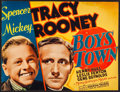 "Movie Posters:Drama, Boys Town (MGM, 1938). Trimmed Title Lobby Card (9.75"" X 13"").Drama.. ..."