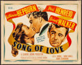 """Movie Posters:Romance, Song of Love (MGM, 1947). Title Lobby Card (11"""" X 14""""). Romance....."""