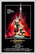 "Movie Posters:Action, Conan the Barbarian (Universal, 1982). One Sheet (27"" X 41"")Advance, Renato Casaro Artwork. Action.. ..."