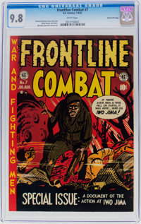 Frontline Combat #7 Gaines File Pedigree 2/10 (EC, 1952) CGC NM/MT 9.8 White pages