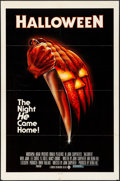 "Movie Posters:Horror, Halloween (Compass International, 1978). One Sheet (27"" X 41"").Blue Rating Box Style, Bob Gleason Artwork. Horror.. ..."
