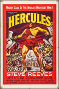 "Movie Posters:Action, Hercules & Other Lot (Warner Brothers, Film, 1959). One Sheets(2) (27"" X 41""). Action.. ... (Total: 2 Items)"