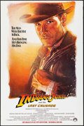 "Movie Posters:Action, Indiana Jones and the Last Crusade (Paramount, 1989). One Sheet(27"" X 40.5""). SS Advance, Artwork by Drew Struzan. Action...."