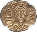Ancients:Byzantine, Ancients: Theophilus (AD 829-842). AV semissis (15mm, 1.71 gm, 5h).NGC MS 5/5 - 4/5....