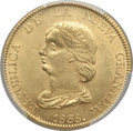 Colombia, Colombia: Nueva Granada gold 16 Pesos 1838-RS Genuine (Cleaned) PCGS,...