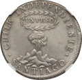 Chile, Chile: Republic Peso 1817 So-FJ AU Details (Harshly Cleaned)NGC,...