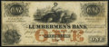 Obsoletes By State:Iowa, Dubuque, IA- Lumbermen's Bank of E.L. Fuller & Co. (GrandHaven, MI) $1 Sep. 1, 1857. ...