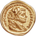 Ancients:Roman Imperial, Ancients: Maximian, First Reign (AD 286-310). AV aureus (21mm, 5.28 gm, 6h). NGC MS 5/5 - 4/5, Fine Style....