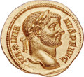 Ancients:Roman Imperial, Ancients: Maximian, First Reign (AD 286-310). AR aureus (20mm, 4.95 gm 11h). NGC MS 5/5 - 4/5....