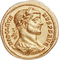 Ancients:Roman Imperial, Ancients: Diocletian (AD 284-305). AV aureus (19mm, 5.42 gm, 7h).NGC Choice AU 5/5 - 4/5....