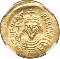 Ancients:Byzantine, Ancients: Phocas (AD 602-610). AV solidus (22mm, 4.53 gm, 7h). NGCMS 5/5 - 4/5....