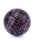 Lapidary Art:Eggs and Spheres, Amethyst Sphere. Brazil. 2.50 inches (6.35 cm) in diameter....