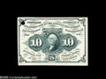 Fractional Currency:Experimentals, Proofs and Essays, Milton 1E10F.2 10¢ First Issue Cardboard Proof Gem New. Printed oncardboard that is extremely similar to Bristol board. The...