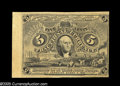 Fractional Currency:Experimentals, Proofs and Essays, Milton 2E5F.3a 5¢ Second Issue Essay Choice New. Printed on thickyellow paper (light cardboard) from the finished 5¢ face p...