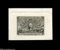 Fractional Currency:Experimentals, Proofs and Essays, Milton 2S5F.1c 5¢ Second Issue Plate Proof Gem New. An incrediblysharp, clean print from the completed Five Cent Second Iss...