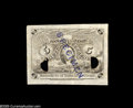 Fractional Currency:Experimentals, Proofs and Essays, Milton 2E5F.1 5¢ Second Issue Progress Proof About New. Two lightfolds away from flawless, this punched and stamped proof i...