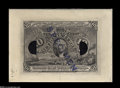 Fractional Currency:Experimentals, Proofs and Essays, Milton 2E10F.3 10¢ Second Issue Die Proof Gem New. This incrediblenote, which fully qualifies as Gem, is printed on light c...