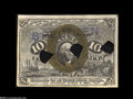 Fractional Currency:Experimentals, Proofs and Essays, Milton 2E10F.2c 10¢ Second Issue Experimental Very Choice New.Similar to Valentine 212 (Milton 2E10F.2a) but with the three...