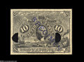 Fractional Currency:Experimentals, Proofs and Essays, Milton 2E10F.2b 10¢ Second Issue Experimental Gem New. Noticeablysmaller in both height and length yet seemingly from the s...