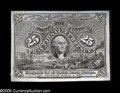 Fractional Currency:Experimentals, Proofs and Essays, Milton 2S25F.1b 25¢ Second Issue Proof Choice About New. Thisextremely sharp proof-quality printing lacks the bronze oval a...