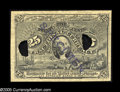 Fractional Currency:Experimentals, Proofs and Essays, Milton 2E25F.3a 25¢ Second Issue Experimental Gem New. Similar tothe very common 2E25F.3c but on a thin, yellowish cardboar...