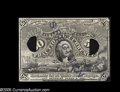 Fractional Currency:Experimentals, Proofs and Essays, Milton 2E50F.4b 50¢ Second Issue Experimental About New. Missingtwo small corner tips and with a short internal rip. This i...