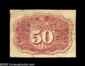 "Fractional Currency:Experimentals, Proofs and Essays, Milton 2E50FR.8 50¢ Second Issue Experimental Lavender ""Wallpaper""About New. This important and highly intriguing piece wa..."