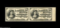 Fractional Currency:Experimentals, Proofs and Essays, Milton 4E10F.2 10¢ Fourth Issue Essay Vertical Pair. A second pairwhose history and provenance appear in the description of...