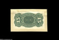 Fractional Currency:Experimentals, Proofs and Essays, Milton 4S15R.1a 15¢ Fourth Issue Proof About New. Mounted as theprevious lot, but with a number of wrinkles and a small tea...