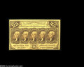 Fractional Currency:First Issue, Fr. 1282SP 25c First Issue Narrow Margin Face and Back. The face grades Choice New and the back About New. ... (2 notes)