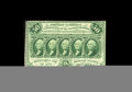 Fractional Currency:First Issue, Fr. 1311 50¢ First Issue Choice New. The very scarce perforate nomonogram issue, quite a challenge to locate this nice. Cho...