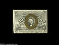 Fractional Currency:Second Issue, Fr. 1249 10¢ Second Issue Choice New. A fresh and original fiber paper note that is a real challenge to locate this nice. Th...