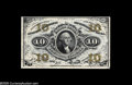 Fractional Currency:Third Issue, Fr. 1255 10¢ Third Issue Inverted Back Engraving Very Choice New. Virtually identical to the Tom O'Mara example, which sold ...