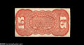 Fractional Currency:Third Issue, Fr. 1273SP 15¢ Third Issue Narrow Margin Red Back About New. This is mounted from a shield with one very minor edge tear and...