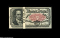 Fractional Currency:Fifth Issue, Fr. 1381 50¢ Fifth Issue Very Choice New. A lovely originalCrawford bundle that squares up beautifully. All but one of the ...