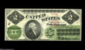Large Size:Legal Tender Notes, Fr. 41a $2 1862 Legal Tender Very Choice New. A Gem in everyrespect but for the seal color. The seal is only bright red at ...