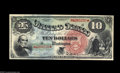 Large Size:Legal Tender Notes, Fr. 96 $10 1869 Legal Tender Gem New. This rainbow ten is wellmargined all around, a feature that is particularly important...