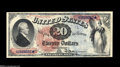 Large Size:Legal Tender Notes, Fr. 127 $20 1869 Legal Tender Gem New. Gorgeous Rainbow $20 that was last auctioned in August of 2000 for over $16,000. THis...