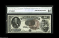 Large Size:Legal Tender Notes, Fr. 161 $50 1880 Legal Tender CGA Gem Uncirculated 65. Thisbeautiful Fr. 161 is from the short run of essentially perfect e...