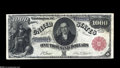 Large Size:Legal Tender Notes, Fr. 187j $1000 1880 Legal Tender Extremely Fine. Of the thirteenexamples known, only four are this nice or better, and thre...