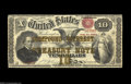 Large Size:Compound Interest Treasury Notes, Fr. 190b $10 1864 Compound Interest Treasury Note Fine-Very Fine. Alovely Fine-Very Fine with good color to the bronze, ori...