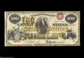 Large Size:Compound Interest Treasury Notes, Fr. 193b $100 1864 Compound Interest Treasury Note Fine. Seventeennotes are recorded in the census, five of which are defin...