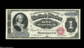 Large Size:Silver Certificates, Fr. 215 $1 1886 Silver Certificate Superb Gem New. About as faultless a type note as could ever exist. The centering of bot...